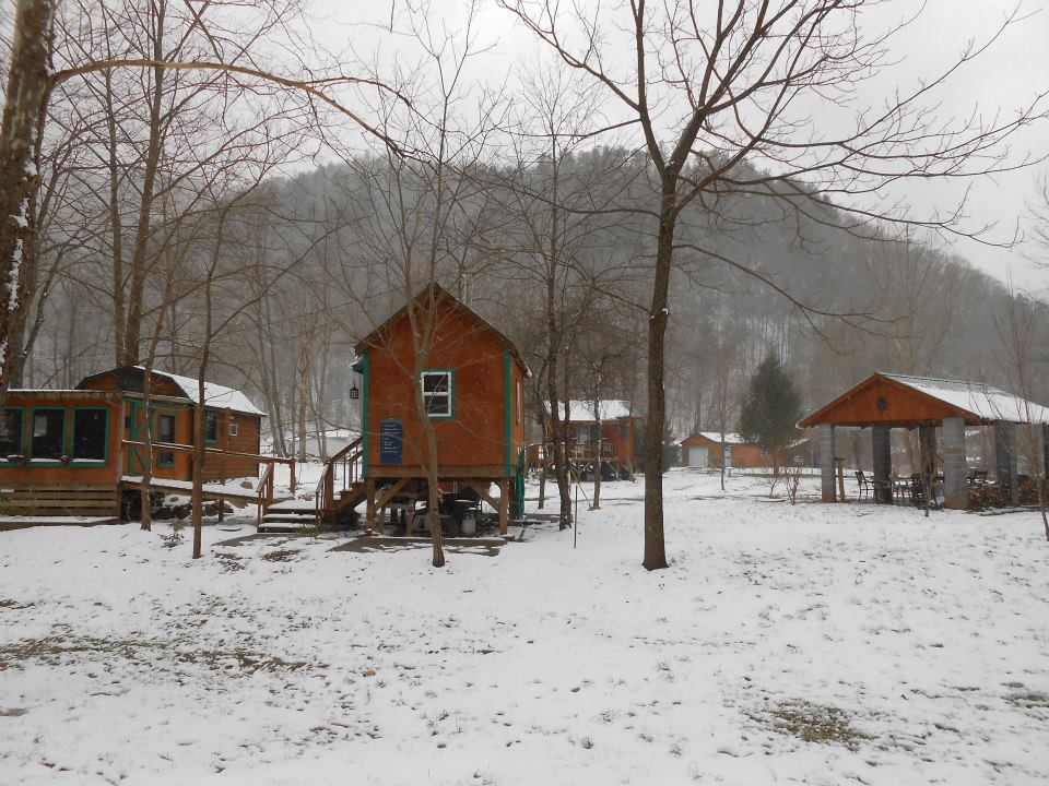 Campground-in-Winter