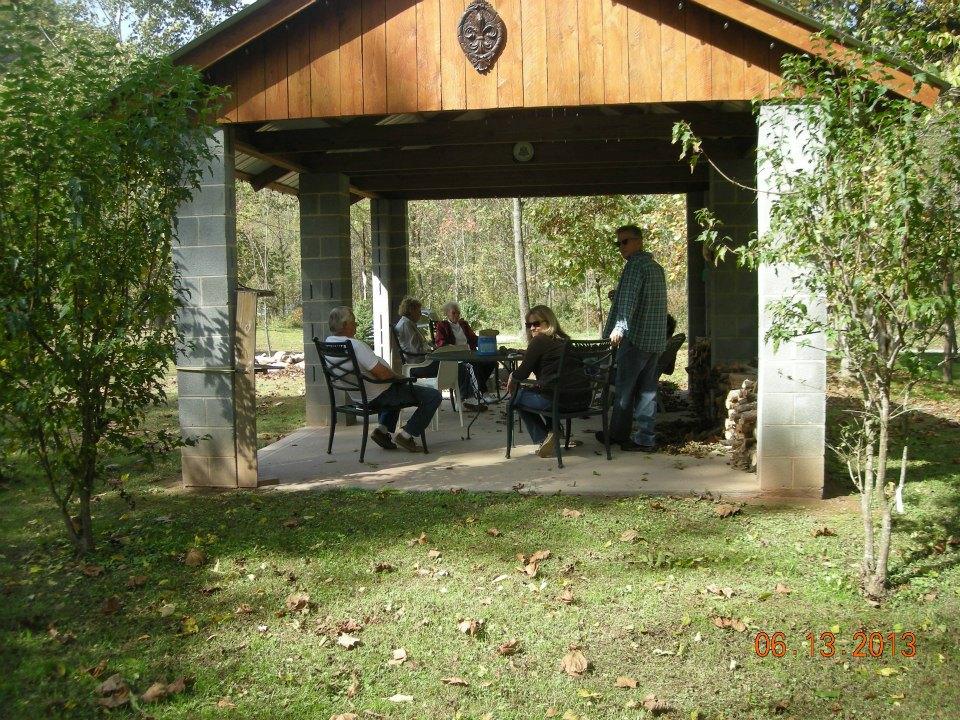 Enjoying-the-Picnic-Shelter