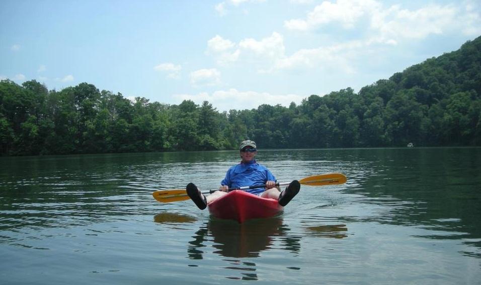 Kayaking-the-Lake