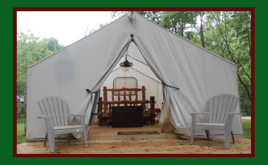 Luxury camping tents give you all the joys of outdoor camping without the hassle.