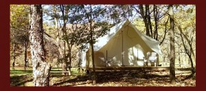Spend the Night In a Luxury Tent