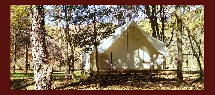 Our luxury tents make the great outdoors comfortable for everybody.